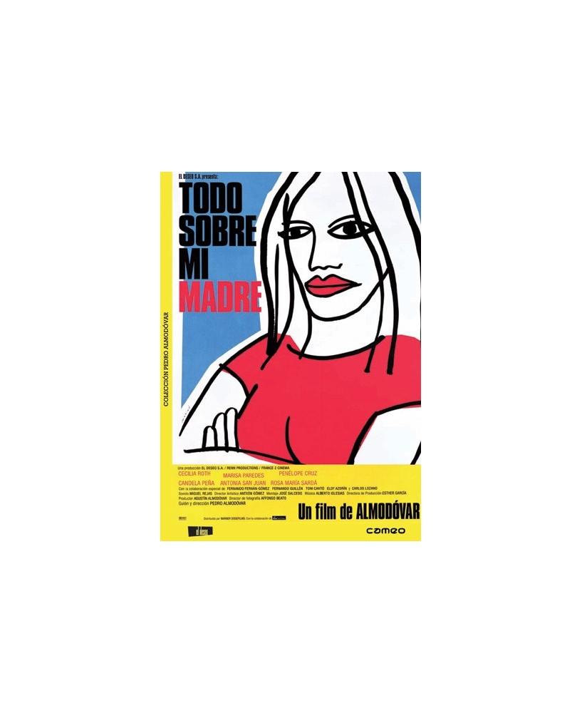 Todo sobre mi madre -  Edicion Remasterizada Pedro Almodóvar