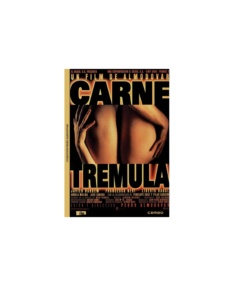 Carne tremula  - Edicion Remasterizada Pedro Almodóvar