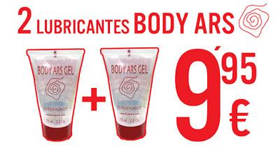 Lubricante Body Ars, Oferta Marzo